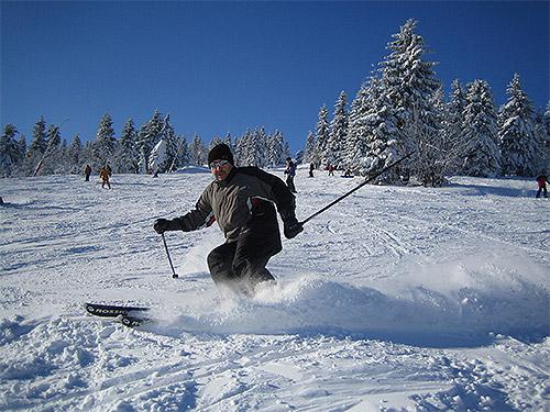 Winterspaß am Fichtelberg